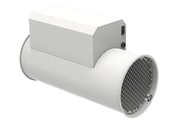 ASPRA S INduct - 3d view excl. collecting unit