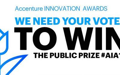 Stem op ons bij de Accenture Innovation Awards!