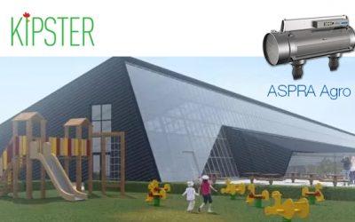 Kipster opening – De meest dier- en milieuvriendelijke kippenstal is uitgerust met ASPRA Agro luchtreiniging