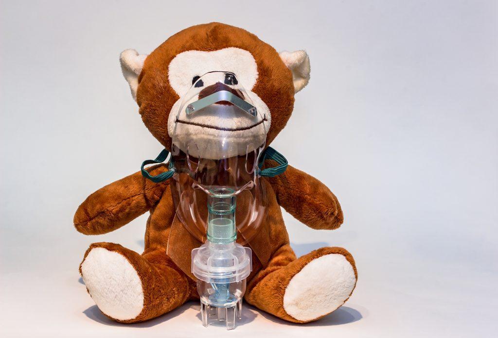Astma teddy bear