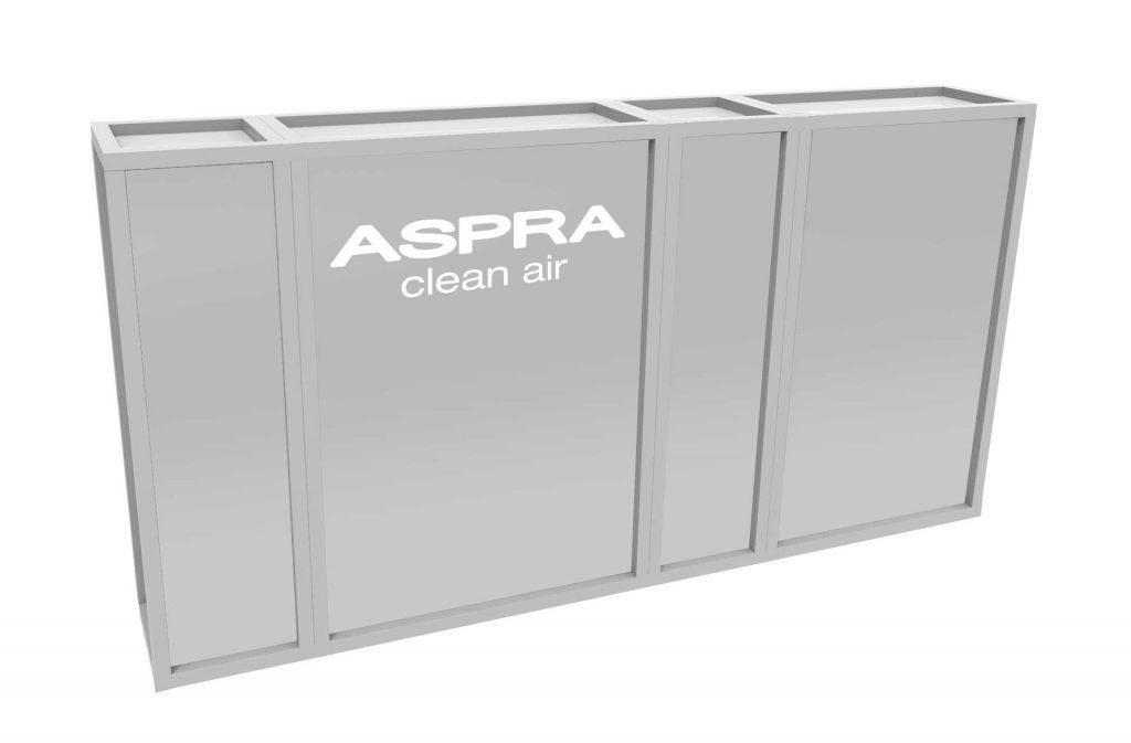 ASPRA L3000 INduct VFA Solutions air purifier