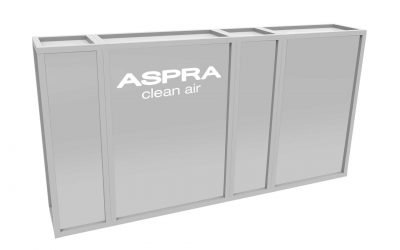 Introducing the ASPRA L-C INduct air purifier
