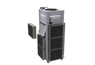ASPRA L Mobile filter change