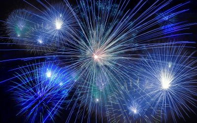 How much particulate matter does firework produce?