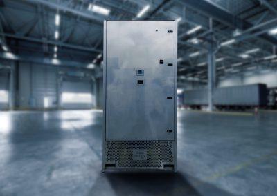 ASPRA Airculess in warehouse - VFAS